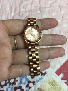 Marc Jacobs watch rose gold
