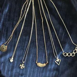 💍Pendan Necklaces (H&M, SM accessories)