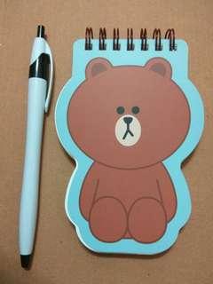 🚚 Line 熊大 線圈 筆記本 記事本