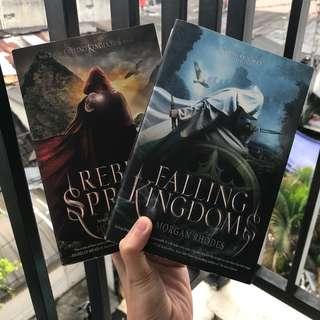 Falling Kingdoms & Rebel Spring by Morgan Rhodes