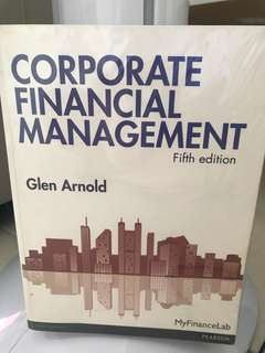 Corporate Financial Management - 5th Edition