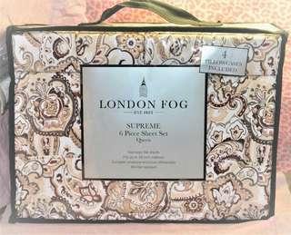 London Fog 6 Piece Sheet Set