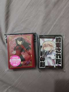 Anime Card Sleeves.