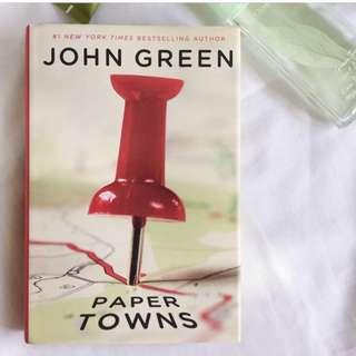 PAPER TOWNS (HARDBOUND)