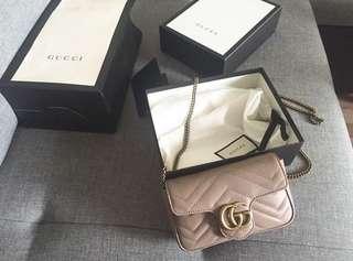 Gucci Marmont Super mini Authentic 100%