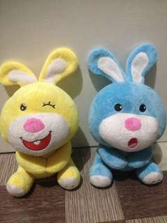 bunny stuffed toy bundle!