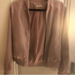 Brand new silky pink bomber from jeanmachine