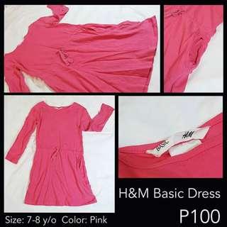 H&M Basic Pink Dress
