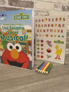 BN The Sesame Street Musical Activity Book