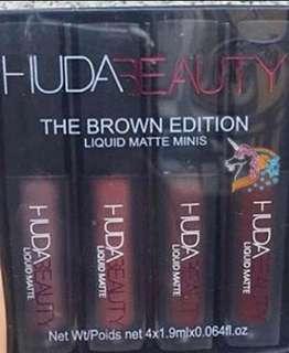 UNUSED Huda Beauty the Brown Edition