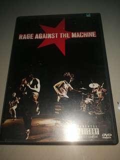 DVD RAGE AGAINST THE MACHINE