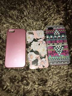 3 pcs case iphone 5