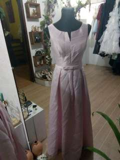 Sale pink gown