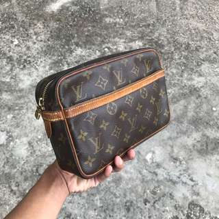 LV Compiegne 23 Clutch Bag