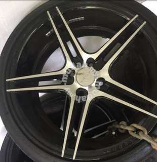 sportrim for wira 17' with tyre