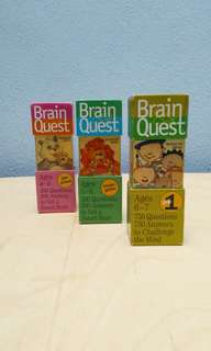 3 Brain Quest deck cards for the price of 1 🌸