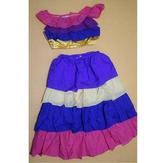 Caribbean Kids Costume