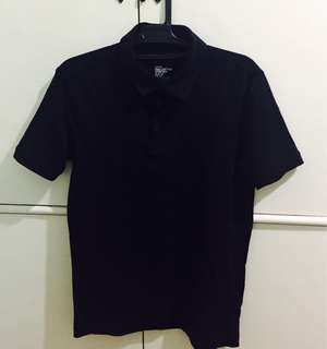 H&M Men's black polo shirt NEVER BEEN USED