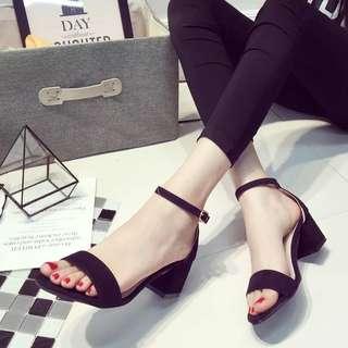 Elegant OL Thick Heels 💛