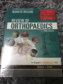 Medical Books Miller review of orthopedic