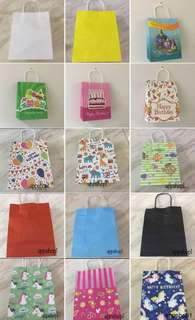 Paper bag, goodies bag, goody bag packages, goodie bag carrier