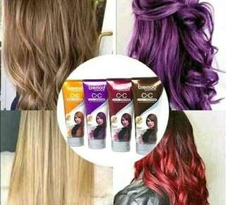 Bremode hair conditioner color