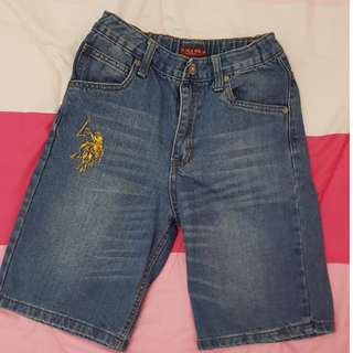 Polo Short Jeans