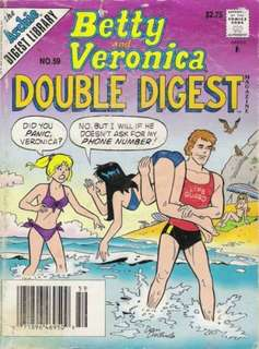Archie comics; Betty and Veronica issue 59