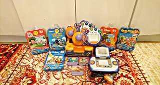 V. SMILE CONSOLE BUNDLE WITH GAMES