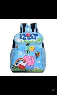 PO kids bag ht 35cm brand new design Peppa Pig/Super wings/ Sofia /minions