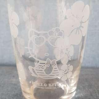 hello kitty 絕版 玻璃杯