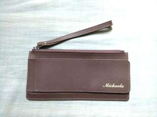 Michaela Taupe Wallet
