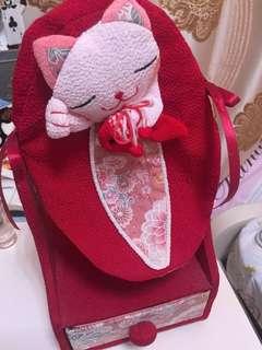 日本猫猫鏡連櫃桶仔