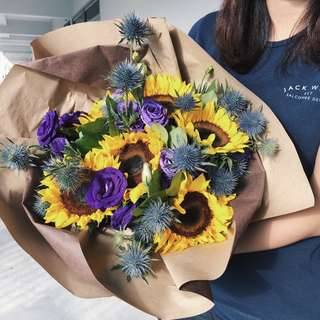 FLOWERS BOUQUET | Sunflower