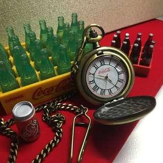 可口可樂 經典懷舊駝錶