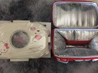 BN Hello Kitty Stainless Steel Oval Lunch box