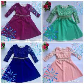Girl Dress (baju raya budak)