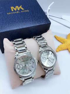MK couple watch with box