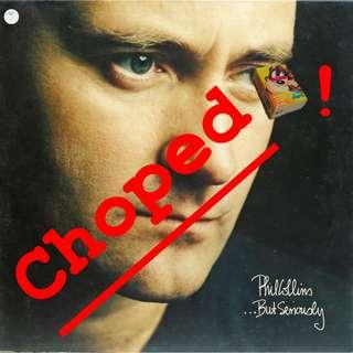 Phil Collins Vinyl LP, used, 12-inch original pressing