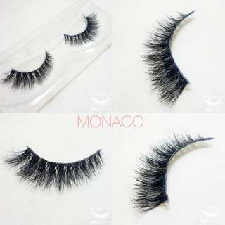 🚚 High quality 3d mink lashes (clearband