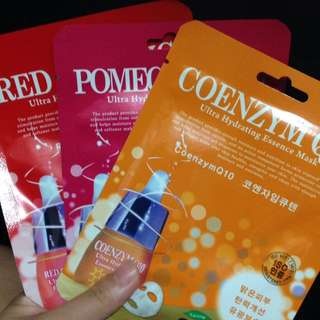 GET 3 Korean Face Mask