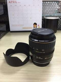 Canon lens 28 - 105mm