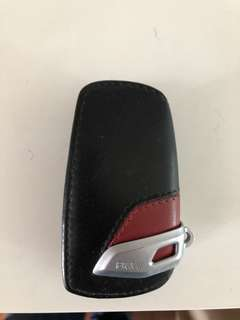 BMW leather key holder
