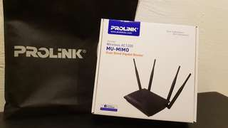 Brand New Prolink Wireless Router AC1200