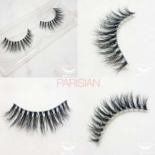 High quality 3d mink lashes (clearband)