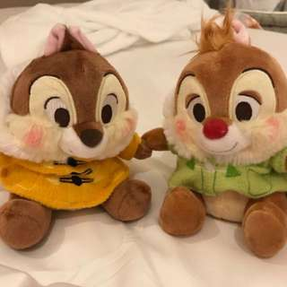 Chip & Dale Plushie from Japan Disney Store
