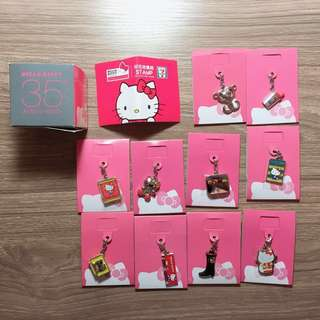 $80 for all👏🏻 Hello Kitty 35TH Anniversary key chains