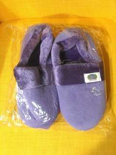 Purple house slipper