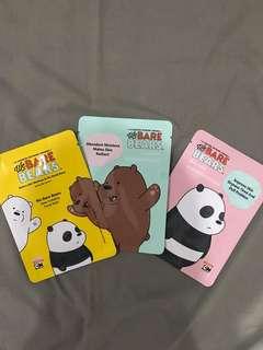 We Bare Bears Facial Mask