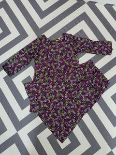 Brand New Kids Baju Kurung Hari Raya for girls (size 2)
